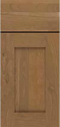 Monterey Door Cherry Species with Nutmeg Stain Inset Style